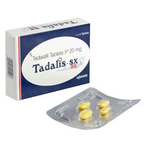 Acquistare Tadalafil in Italia | Tadalis SX 20 in linea