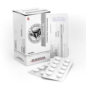 Acquistare Clenbuterol hydrochloride (Clen) in Italia | Magnum Clen-40 in linea