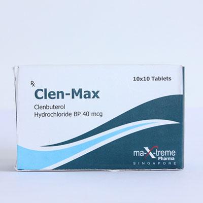 Acquistare Clenbuterol hydrochloride (Clen) in Italia | Clen-Max in linea
