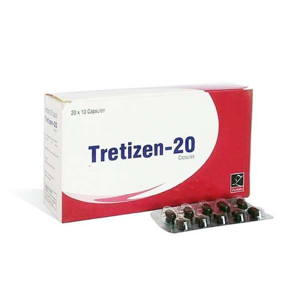Acquistare isotretinoina (Accutane) in Italia | Tretizen 20 in linea